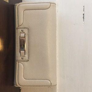 Nine West white wallet